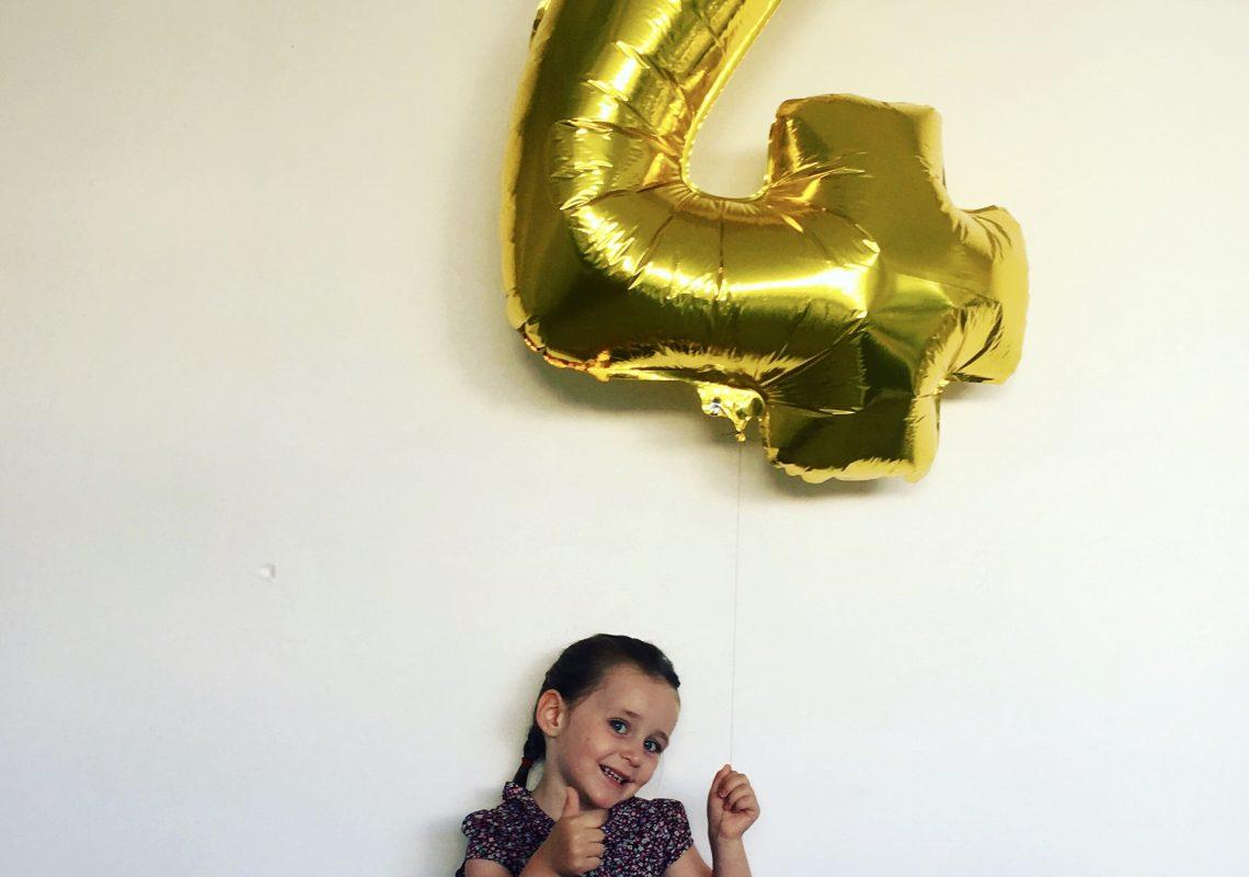Petite Cocotte a 4 ans !